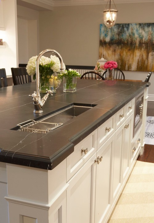 Captivating Safeguard Your Stone. Traditional Kitchen Design