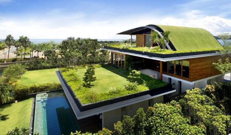 Eco Friendly Home Renewable Energy And Green Materials